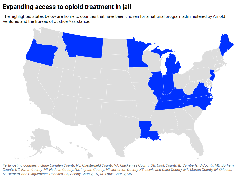 Arnold Ventures Announces National Program to Expand Opioid